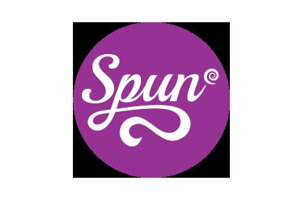 spun graphical logo